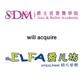 SDM Jazz and Ballet Academie will acquire ELFA Preschool