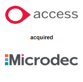Access Group acquired Microdec Plc