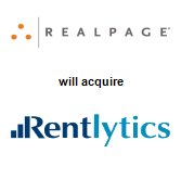 RealPage, Inc. will acquire Rentlytics