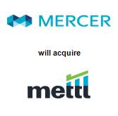 Mercer, LLC will acquire Mettl