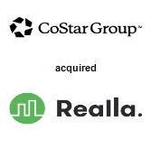 CoStar Group acquired Realla Ltd