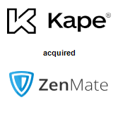 Kape Technologies plc acquired ZenMate