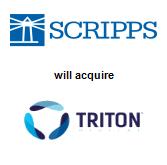 The E.W. Scripps Company will acquire Triton Digital Media