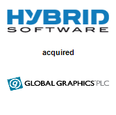Hybrid Software acquired Global Graphics Software