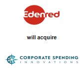 Edenred will acquire Corporate Spending Innovations