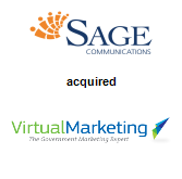 Sage Communications acquired Virtual Marketing