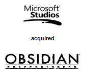 Microsoft Studios acquired Obsidian Entertainment, Inc.