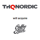THQ Nordic AB will acquire Coffee Stain Studios AB