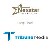 Nexstar Media Group acquired Tribune Media Company