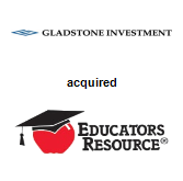 Gladstone Investment Corporation acquired Educators Resource