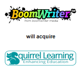 BoomWriter Media will acquire Squirrel Learning Limited