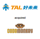 TAL Education Group acquired CodeMonkey Studios