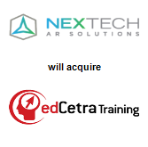 NexTech AR Solutions Corp. will acquire edCetra Training Inc.