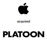 Apple, Inc. acquired Platoon