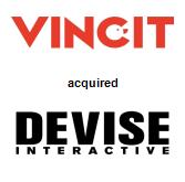 Vincit Oy acquired Devise Interactive