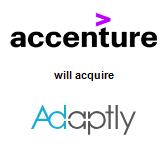 Accenture will acquire Adaptly