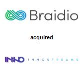 Braidio acquired InnoStreams