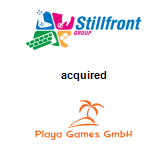 Stillfront Group AB acquired Playa Games