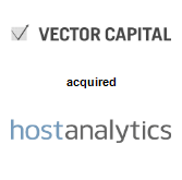Vector Capital will acquire Host Analytics