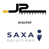 J2 Interactive acquired SAXA Solutions, LLC