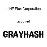 LINE Plus Corporation acquired GrayHash