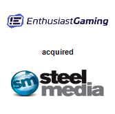 Enthusiast Gaming Inc. acquired Steel Media Ltd.