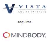 Vista Equity Partners acquired MINDBODY Inc.