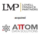 Lovell Minnick Partners acquired ATTOM Data Solutions