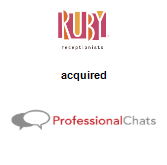 Ruby Receptionists acquired ProfessionalChats