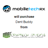 Mobile Tech RX will purchase Dent Buddy from CrypTech Studios, Inc.