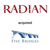 Radian Group Inc. acquired Five Bridges Advisors, LLC