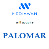 Mediawan S.A. will acquire Palomar