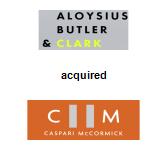 Aloysius Butler & Clark acquired Caspari McCormick