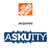 Home Depot acquired Askuity