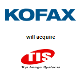 Kofax, Inc. acquired Top Image Systems, Ltd.