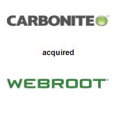 Carbonite, Inc. acquired Webroot Inc.