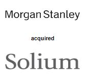 Morgan Stanley acquired Solium Capital Inc.