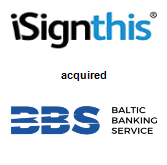iSignthis Ltd. acquired Baltic Banking Service