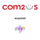 Com2uS Corporation acquired Day7 Inc.