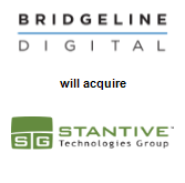 Bridgeline Digital, Inc. will acquire Stantive Technologies Group