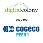 Digital Colony acquired Cogeco Peer 1