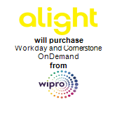 Alight Solutions will purchase Workday and Cornerstone OnDemand from Wipro Limited