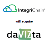 IntegriChain, Inc. will acquire daVIZta Inc.