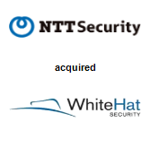 NTT Security acquired WhiteHat Security, Inc.