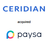Ceridian Corporation acquired Paysa