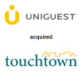 Uniguest acquired Touchtown