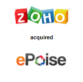 Zoho Corporation Pvt. Ltd. acquired ePoise Systems Pvt Ltd.