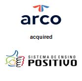 Arco Platform Limited acquired Sistema Positivo de Ensino