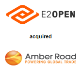 E2Open, Inc. acquired Amber Road, Inc.