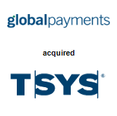 TSYS merged with Global Payments, Inc.